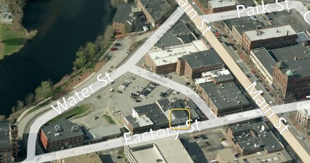 17 Factory St Nashua - Open Space Yoga - aerial